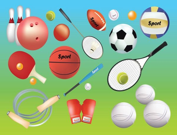 Free Graphics Sport Gear Vectors Icons