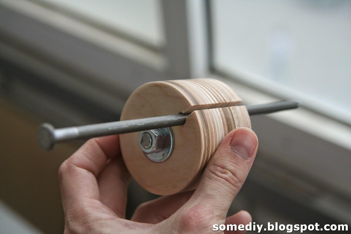 Шлифовальный барабан на дрель своими руками