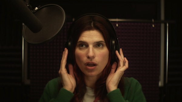 Lake Bell stars in her film In a World...