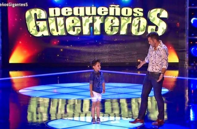 Pablo canta un tema especial para Jesús Vázquez