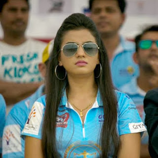 Actress Shubhi Sharma Latest Cute  Exclusive Spicy Pictures Gallery at CCL Season 4 inauguration Gallery (4).jpg
