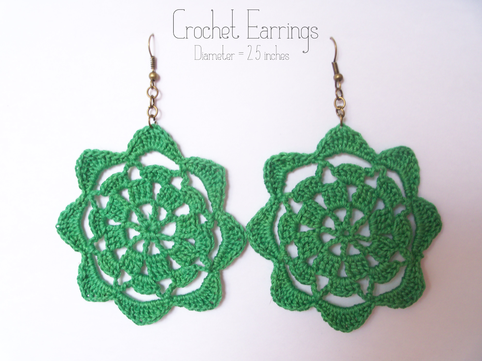 Earrings crochet patterns free juegos