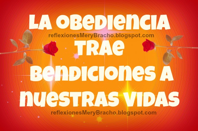 la Obediencia Trae Bendiciones