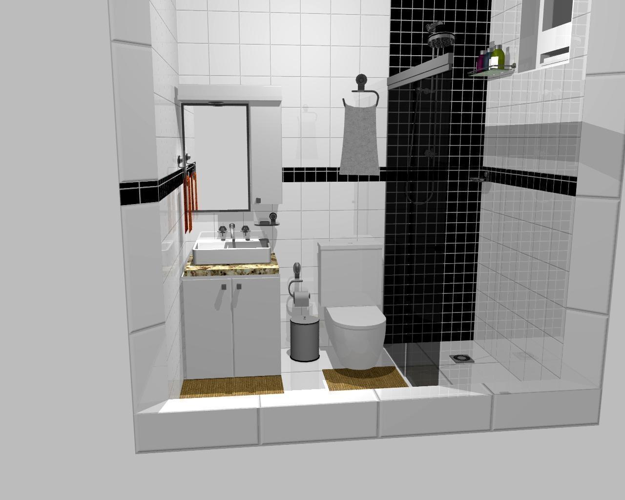 banheiro pequeno 12 Quotes #654D27 1280x1024 Banheiro Com Jardim Pequeno