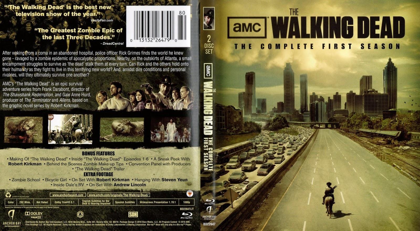 The Walking Dead Season 1 Complete S01 BRRip 720p 1080p ...