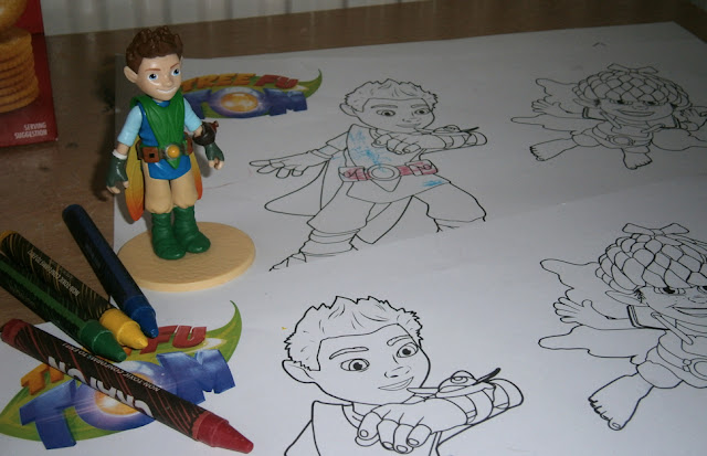 colouring in prntable fun tree fu tom