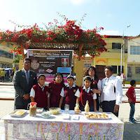 """Equipo de trabajo de la Expo Feria """"Aprendamos a consumir nuestra quinua"""" Bellavista, Sullana."""