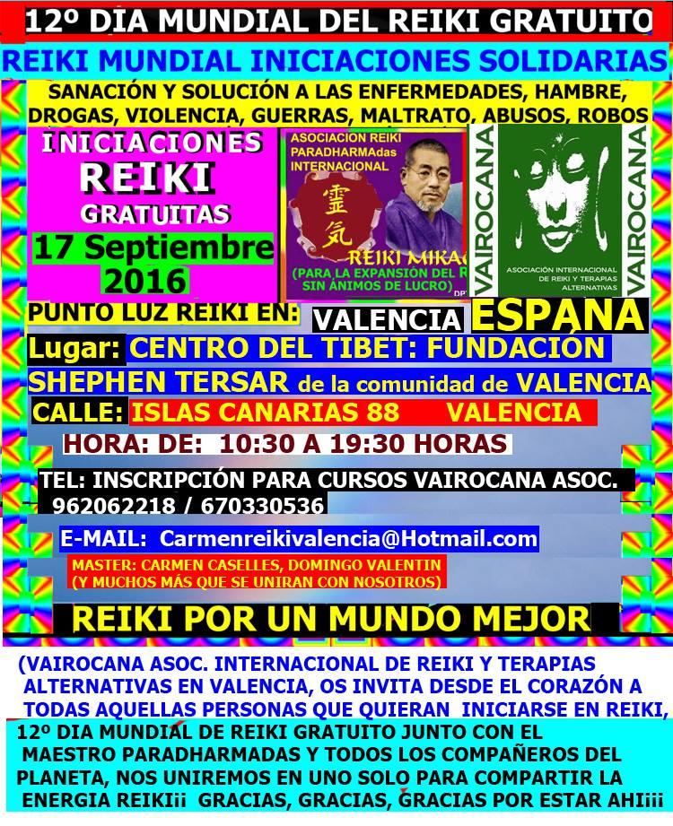 12º DÍA MUNDIAL DE REIKI
