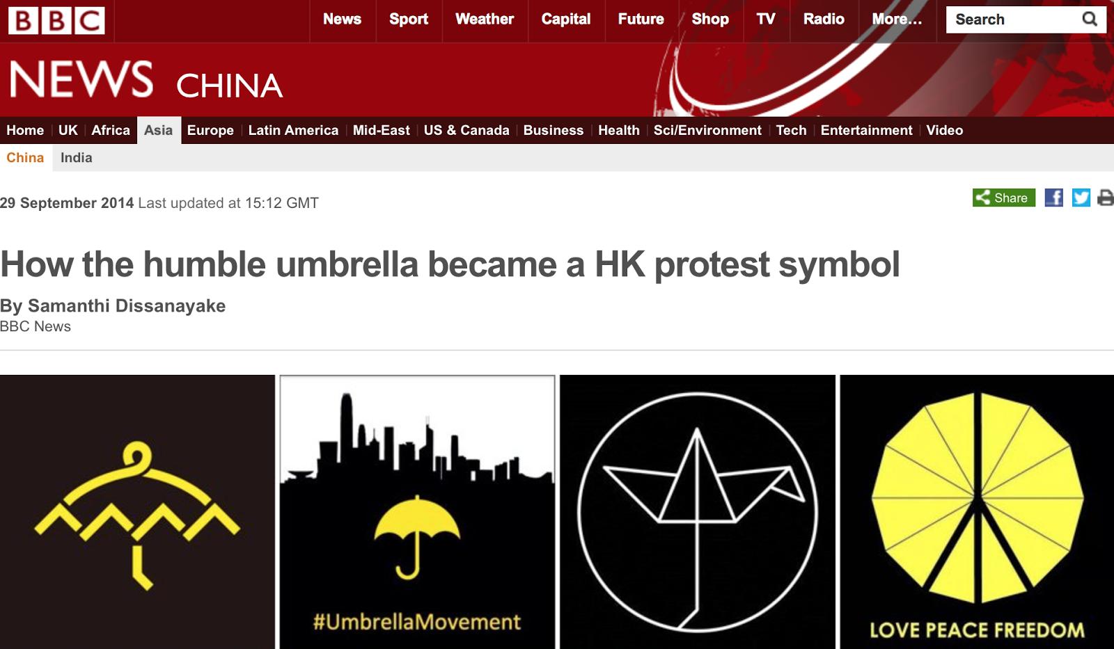 Paul Vickers Design Thinking The Umbrella A New Symbol Is Born
