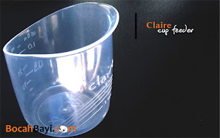 Claire Cup Feeder, Cawan ASI, Cawan ASIP