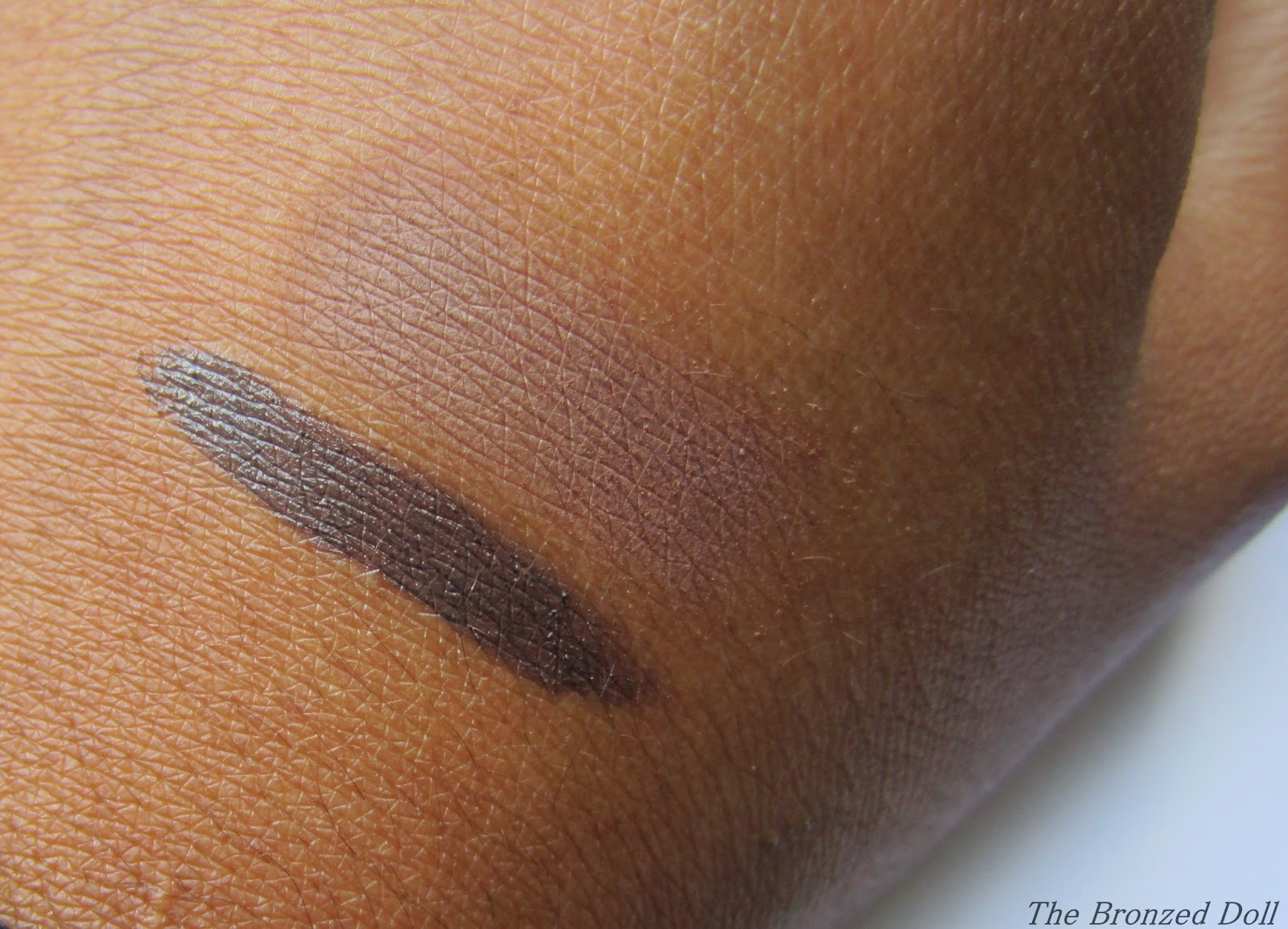 e.l.f studio eyebrow kit in medium swatch