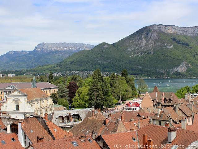 Haute Savoie, Rhônes Alpes, Lake Annecy, Canal, River, Mountain