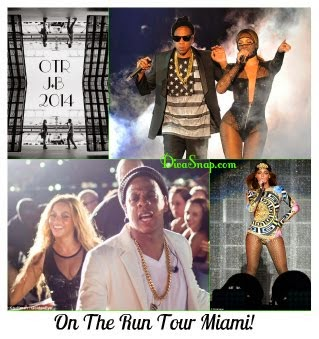 305 Snappin Video: Beyonce & Jay-Z On The Run Tour in Miami!
