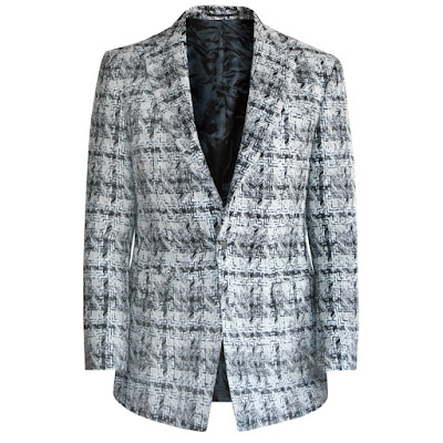 e tautz tweed blazer sportcoat jacket