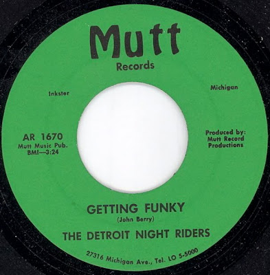 The Detroit Night Riders - Getting Funky - Night Time In The Ghetto