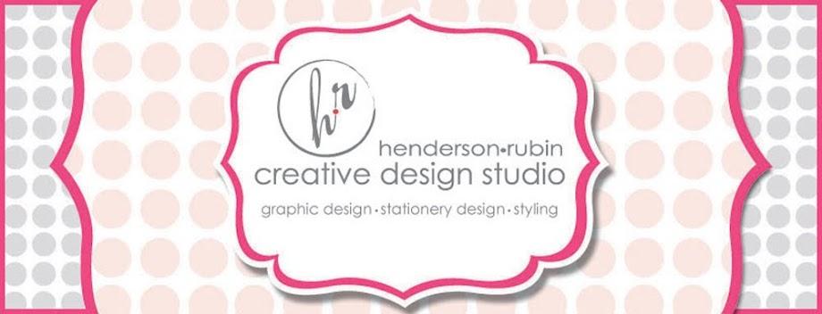 Henderson Rubin Creative Design Studio