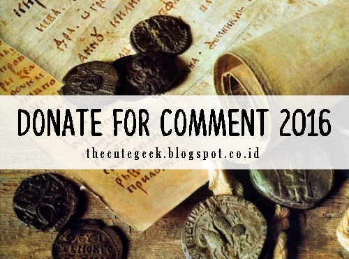 Donate for Comment 2016