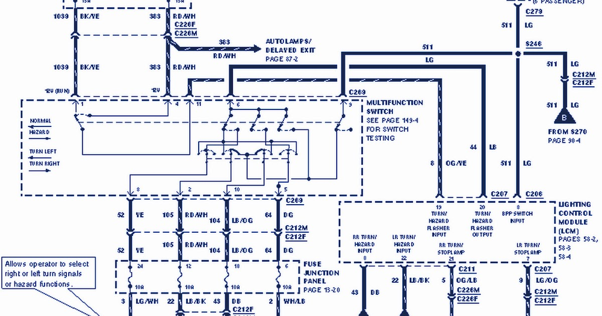99 lincoln wiring diagram wiring diagram third level rh 20 9 20 jacobwinterstein com 1999 lincoln navigator radio wiring diagram Navigator C2131 Wiring