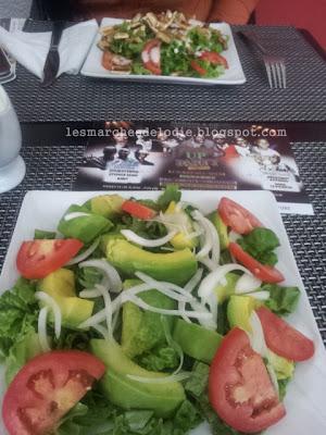 Café de France - Repas - Salade - Les Marches d'Elodie