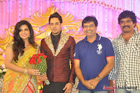 Celebraties at Actor Bharat n Jessy Wedding Reception Photos+%252852%2529 Actor Bharath n Jessy Wedding Photos