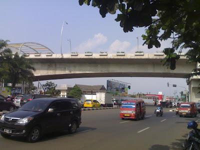 Flyover KH Noer Alie Kota Bekasi