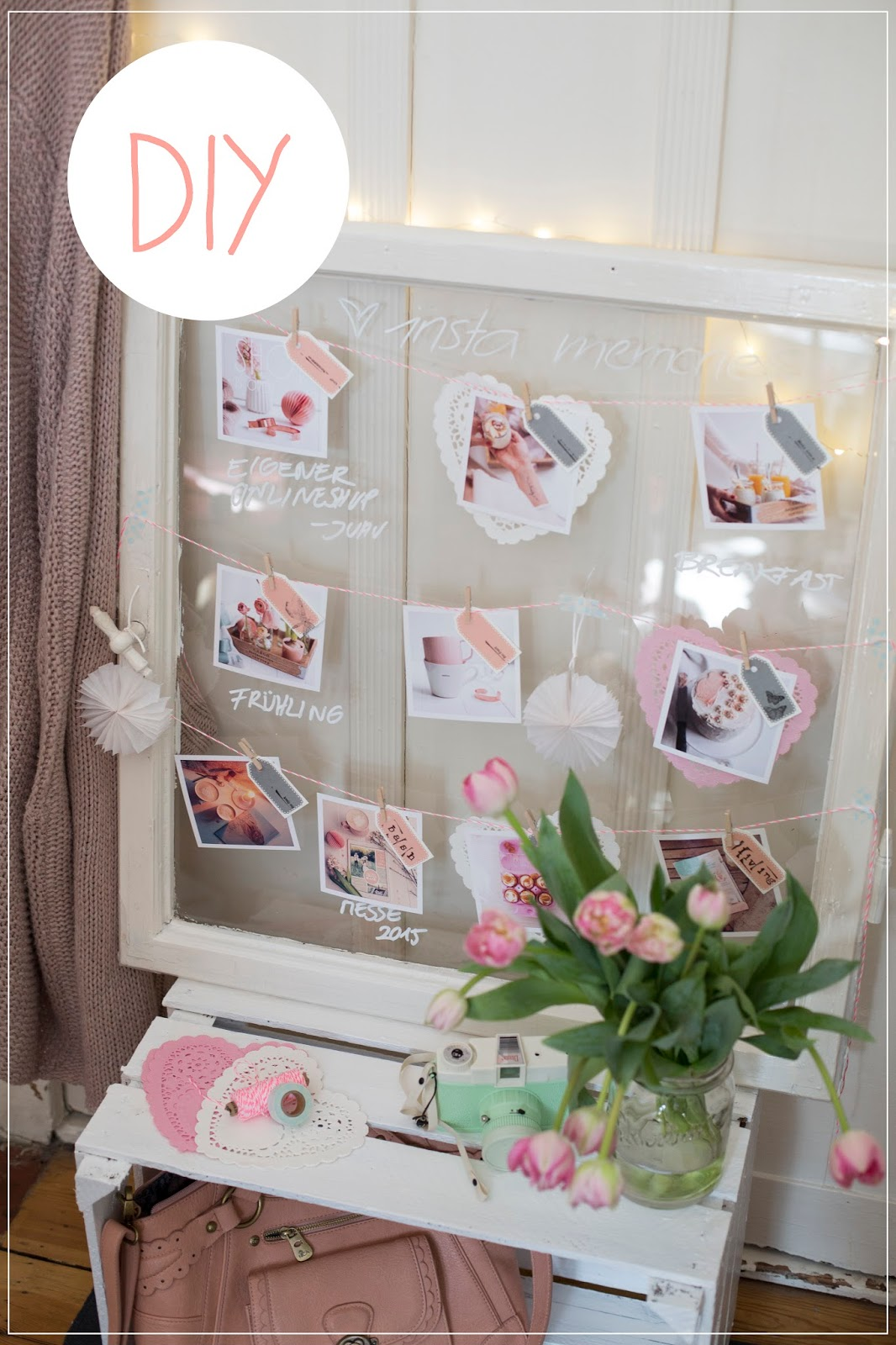 Memory Board DIY und Giveaway