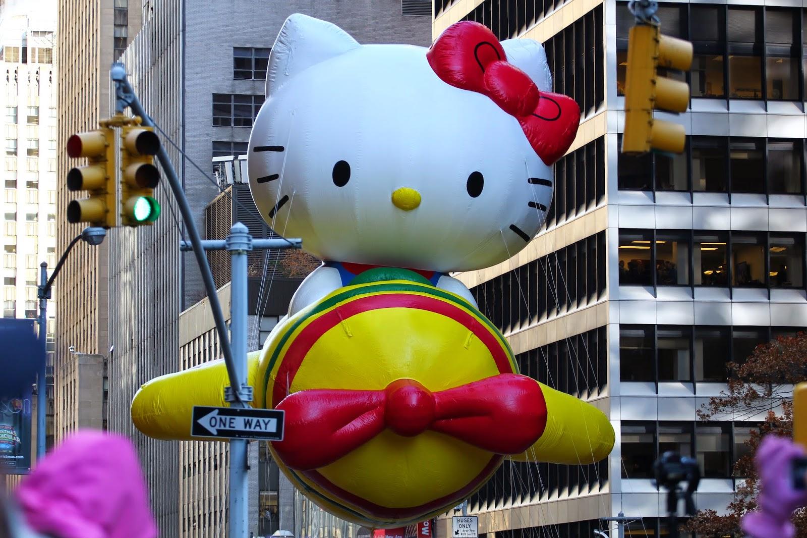 desfile de la tienda Macys en la Ciudad de Nueva York