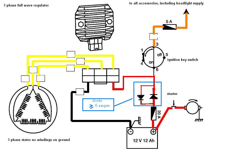 6 wire rectifier wiring diagram 6 image wiring diagram gy6 5 wire rectifier wiring diagram jodebal com on 6 wire rectifier wiring diagram