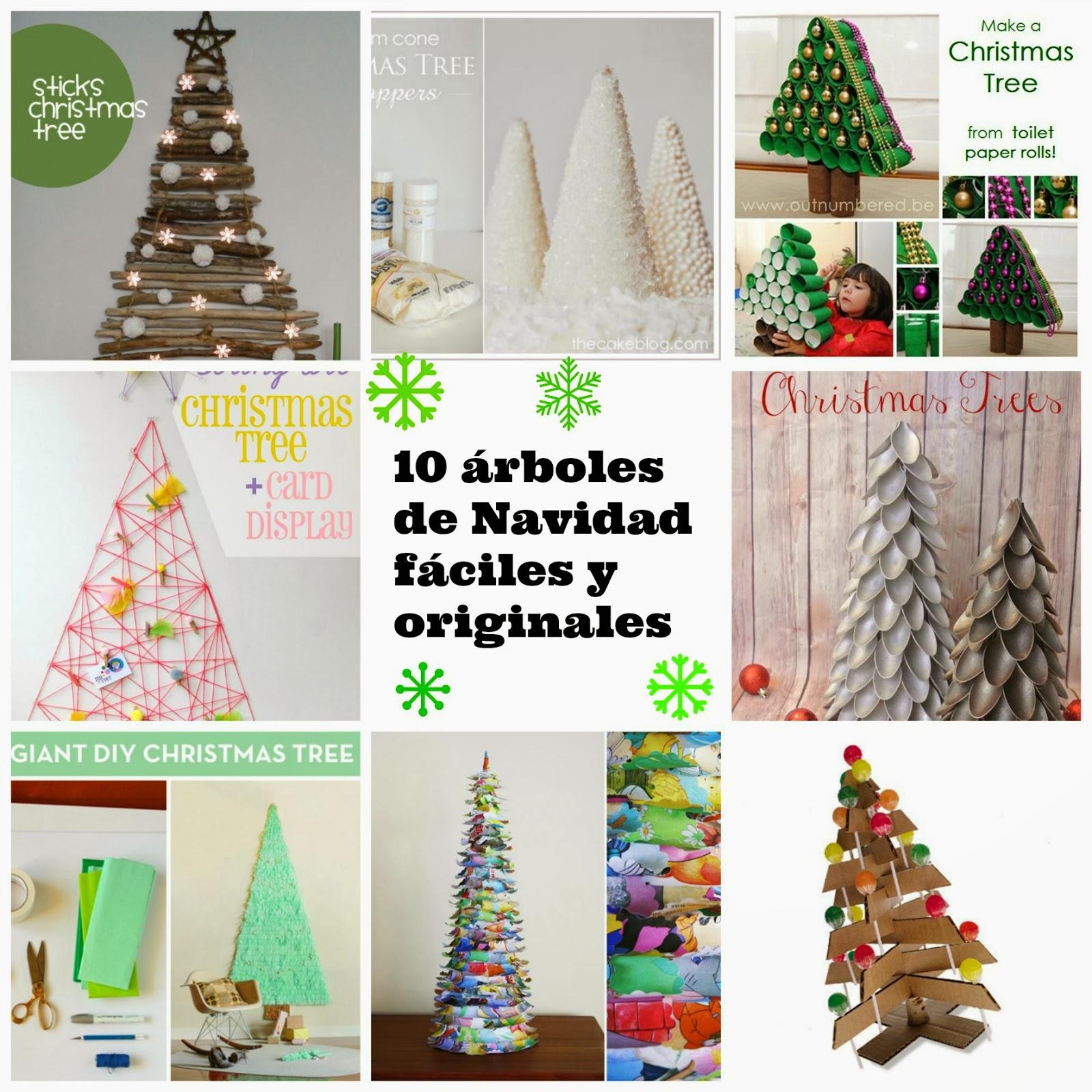10 rboles de navidad muy originales manzanaterapia - Arboles de navidad creativos ...
