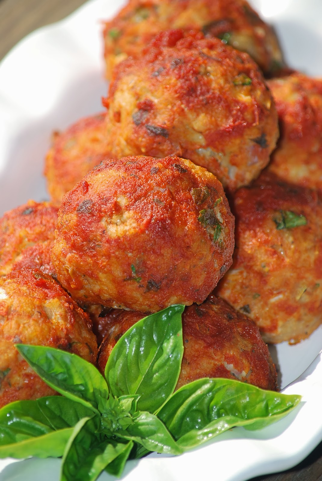 My story in recipes: Chicken Parmesan Meatballs