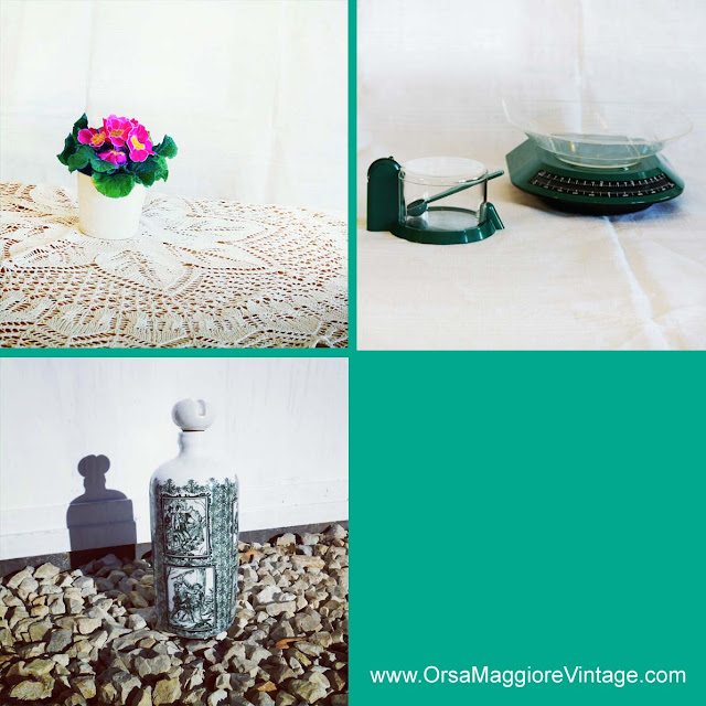 vintage emerald green