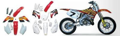 Plastika UFO Enduro - Motocross