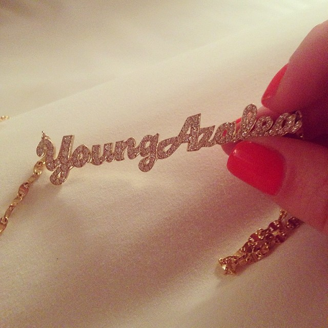 Iggy Azalea Name Necklace