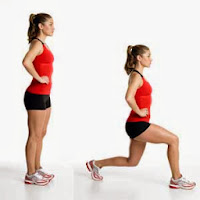 Lunges Health Exercise Beauty Tips for Indian Women