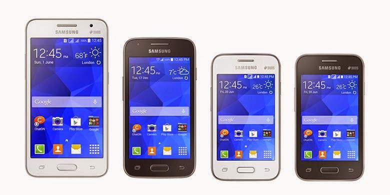 Samsung Resmi meluncurkan 4 Smartphone Kitkat Murah
