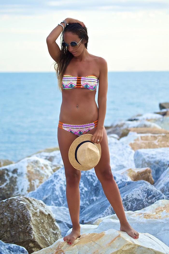cappello paglia bikini