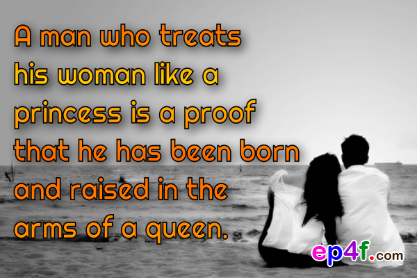 When Man Truly Loves Woman Quotes