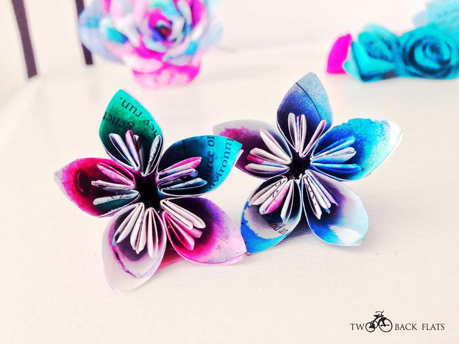 Twobackflats paper flower wedding mini top hat paper flower wedding mini top hat mightylinksfo