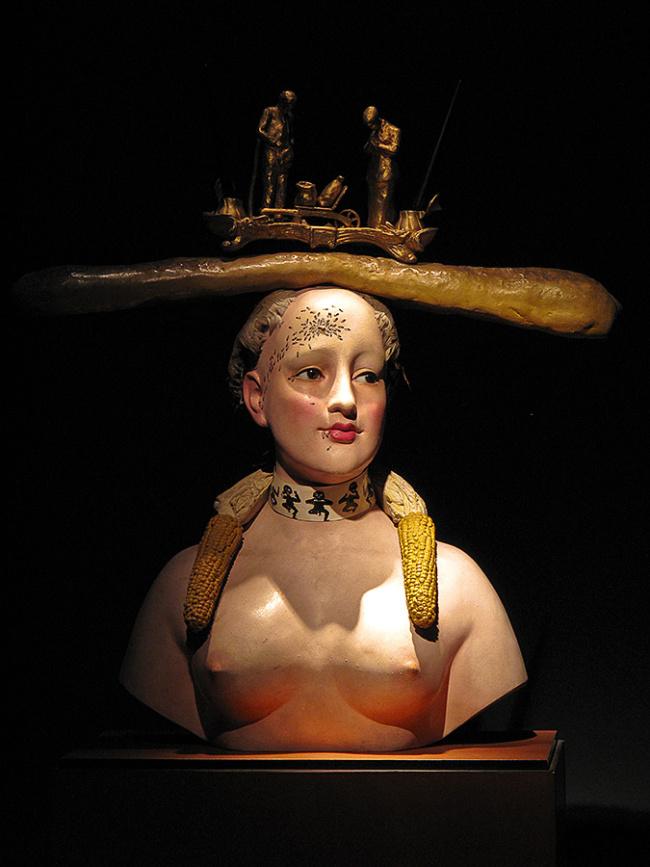 El prusés Catalufo Busto-de-una-mujer-1933-1