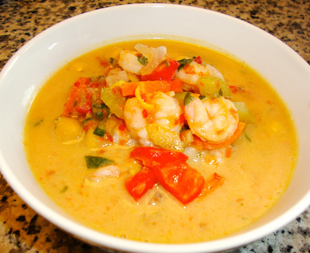 In Mo's Kitchen: Curry Peanut Soup