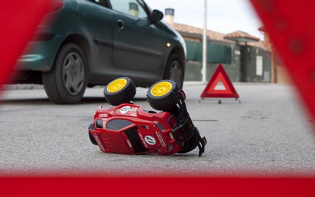 Accidentes coche sistemas retención infantil