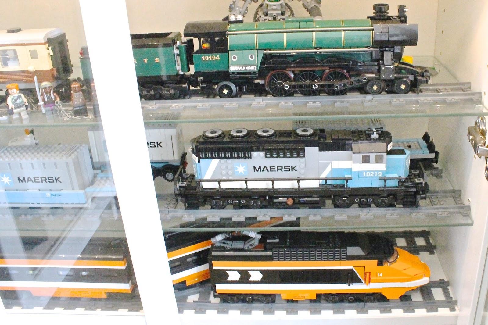 lego trains,