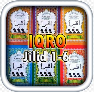 Aplikasi Buku IQRO Lengkap Jilid 1,2,3,4,5 dan 6