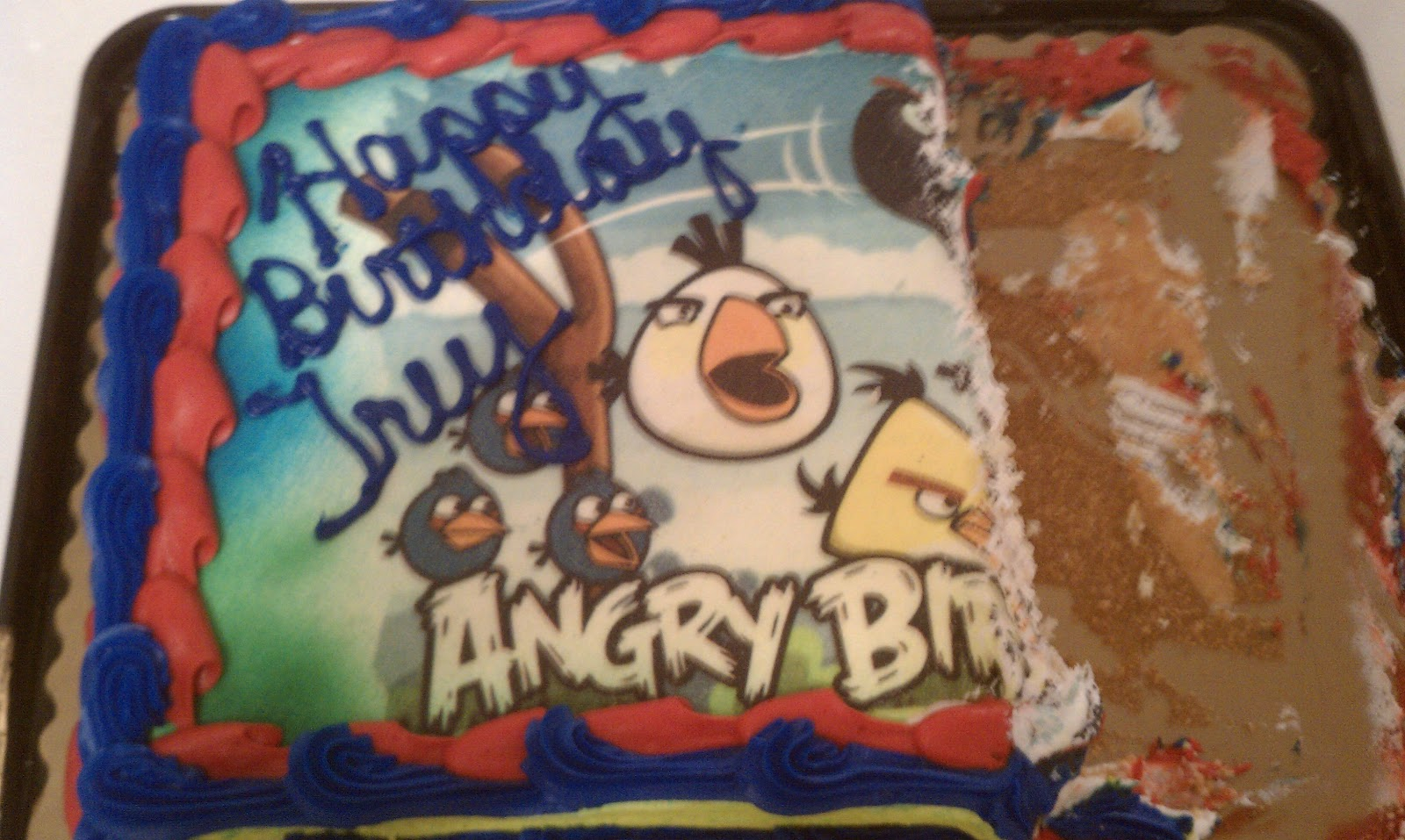Images Of Birthday Cake For Uncle : The Cleek Family: Happy Birthday, Uncle Trey!