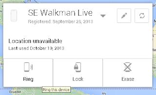 mengunci smartphone android dari jauh