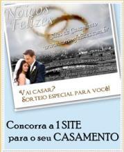 Vai casar? Concorra a 1 site p/ CASAMENTO
