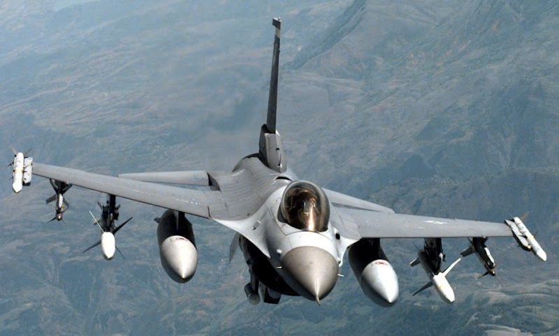 F-16 Fighting Falcon Multirole Fighter Aircraft