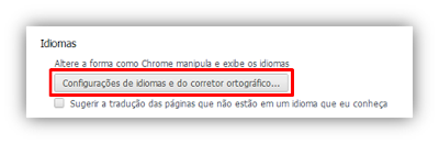 Editando o Idioma Padrão do Google Chrome