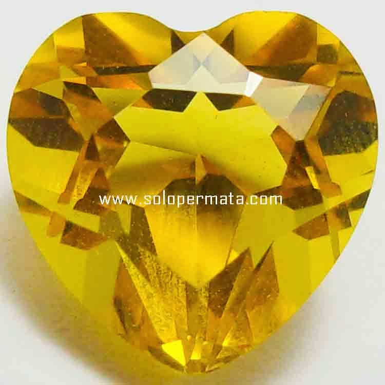 Batu Permata Golden Yellow Citrine - 26B05