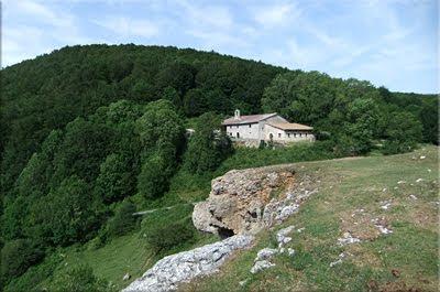 Abitigarra visto desde la ermita de Santa Teodosia